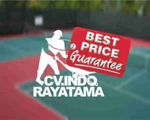 ahli lapangan olahraga murah, jasa pembuat lapangan harga murah, RAB, ahli lapangan tenis, renovasi lapangan tenis