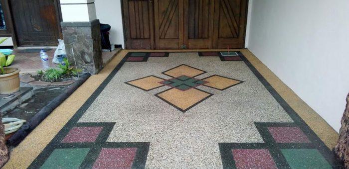 Jasa Pasang Batu Sikat untuk Carport, Halaman Rumah dan Taman