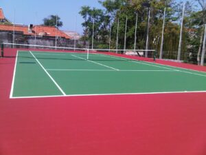 kerusakan lapangan tenis renovasi lapangan tenis ahlilapangantenis
